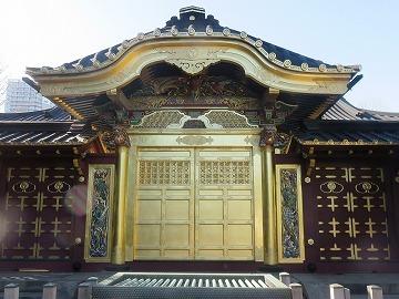 上野東照宮の唐門_c0187004_11482039.jpg