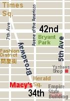 NYミッドタウン、42~34丁目間の5番街沿いの風景_b0007805_2151738.jpg