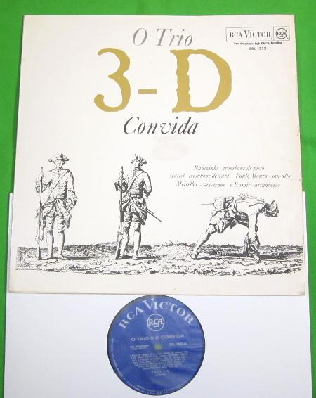 店頭新入荷 - O Trio 3-D(Trio 3D) / Convida (RCA Victor)_a0244729_19583437.jpg