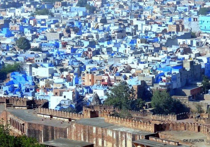 インド・ラジャスタンの旅 7 ブルーシティ_a0092659_17263065.jpg
