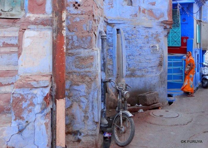 インド・ラジャスタンの旅 7 ブルーシティ_a0092659_18253852.jpg