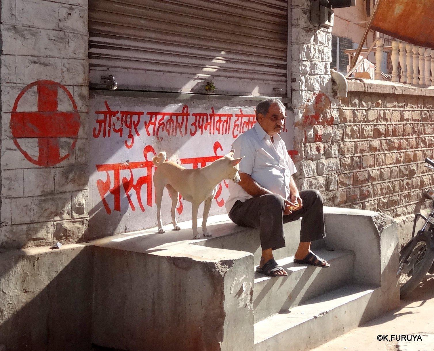 インド・ラジャスタンの旅 7 ブルーシティ_a0092659_18591540.jpg
