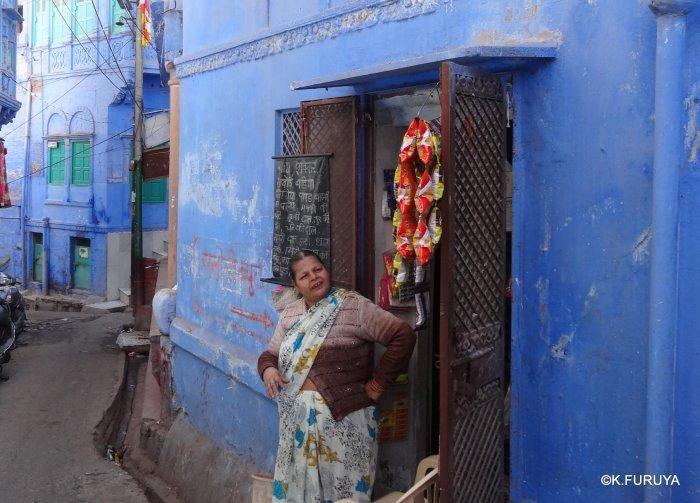 インド・ラジャスタンの旅 7 ブルーシティ_a0092659_23320919.jpg