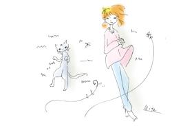 猫は超能力を備えている_f0325471_21002645.jpg