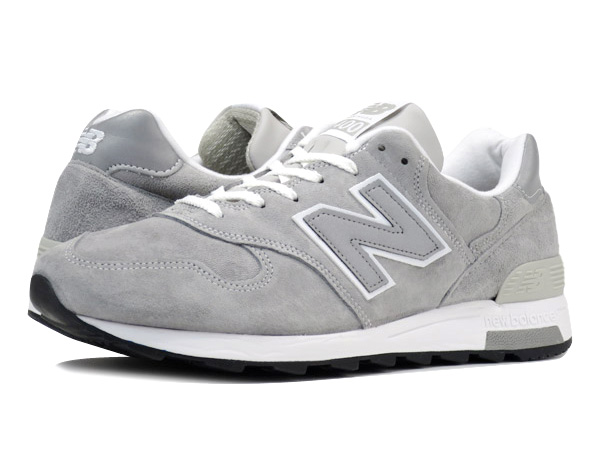 遂に入荷です(^^♪ newbalance ・・・ M 1400 (MADE IN USA) GRAY NUBAK LEATHER!★!_d0152280_2043135.jpg