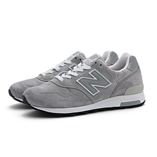 遂に入荷です(^^♪ newbalance ・・・ M 1400 (MADE IN USA) GRAY NUBAK LEATHER!★!_d0152280_2043311.jpg