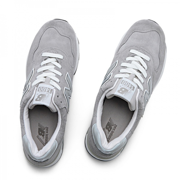 遂に入荷です(^^♪ newbalance ・・・ M 1400 (MADE IN USA) GRAY NUBAK LEATHER!★!_d0152280_204337100.jpg