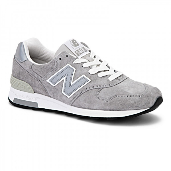 遂に入荷です(^^♪ newbalance ・・・ M 1400 (MADE IN USA) GRAY NUBAK LEATHER!★!_d0152280_20434646.jpg