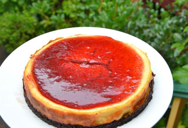 グルテンフリー・チーズケーキ&ストロベリー・ソース_f0155522_1733459.jpg