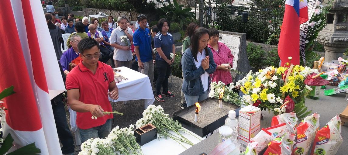 フィリピン・バギオ戦没者慰霊祭 : 毎年2月に開催されています_a0109542_23233589.jpg
