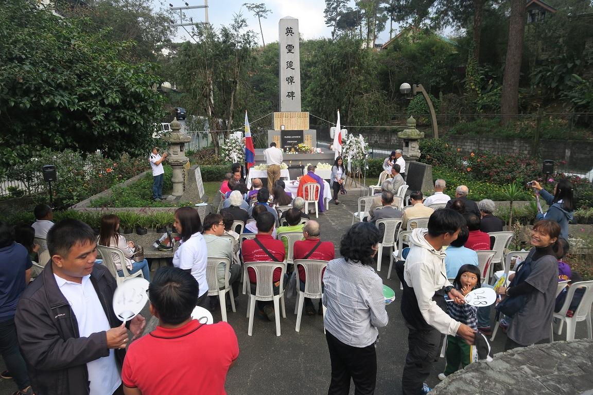 フィリピン・バギオ戦没者慰霊祭 : 毎年2月に開催されています_a0109542_23254036.jpg