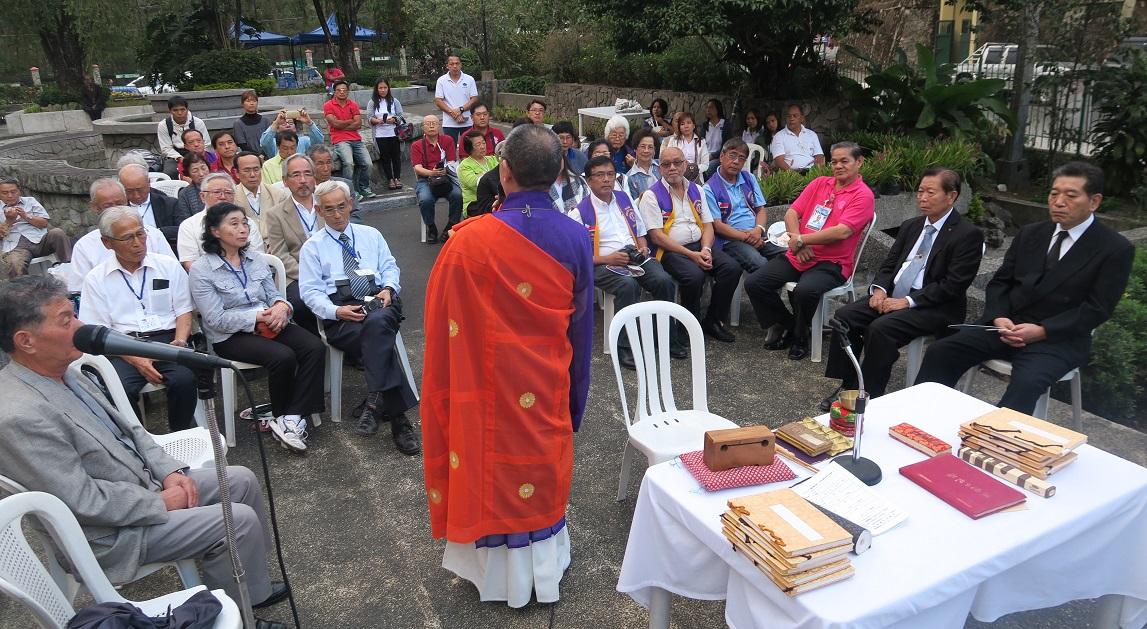 フィリピン・バギオ戦没者慰霊祭 : 毎年2月に開催されています_a0109542_2328476.jpg