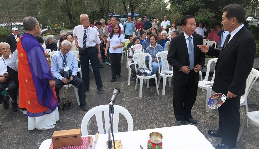 フィリピン・バギオ戦没者慰霊祭 : 毎年2月に開催されています_a0109542_2341954.jpg