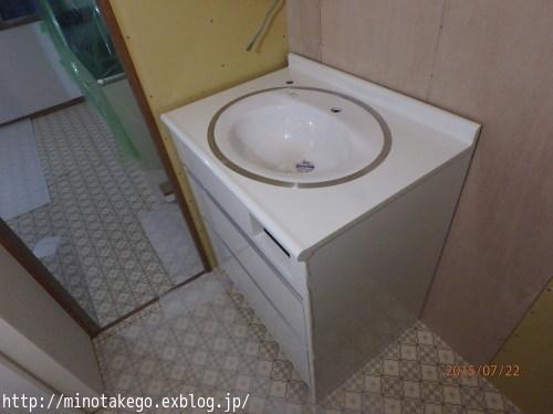 世界にたった1つのオリジナル洗面台_e0343145_14222896.jpg