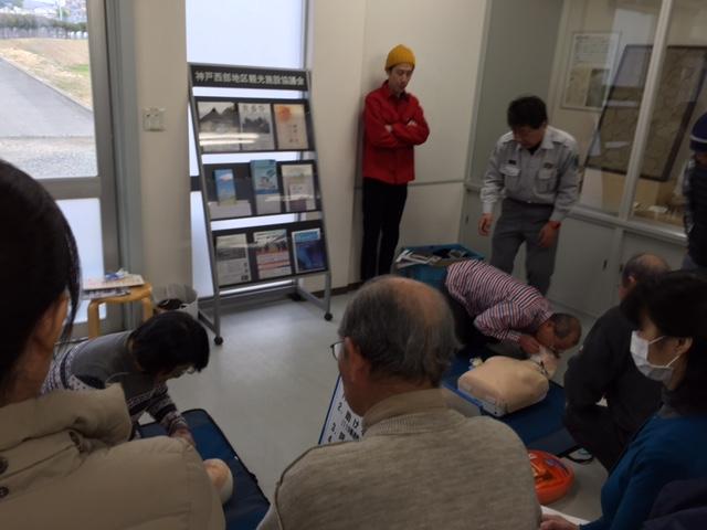 救急法の講習会を行いました。_f0079749_13553840.jpg