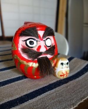富士の開運髭だるま。_f0177373_19494818.jpg