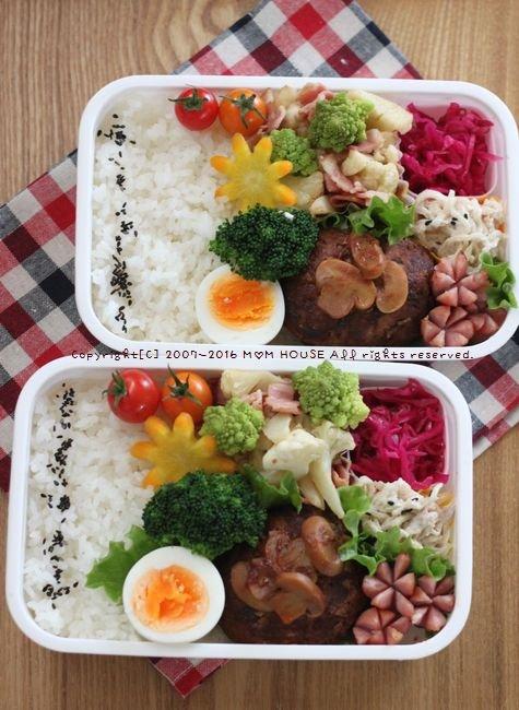 煮込みハンバーグ✿豚汁定食♪_c0139375_11393037.jpg