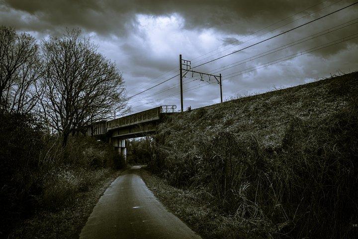 哲学的な気分になれる冬の散歩道_d0353489_20374053.jpg