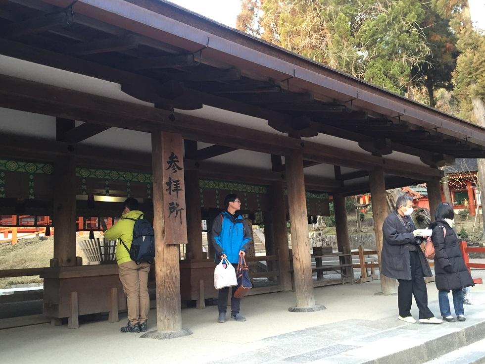 平成廿八年 二月十日 春日大社參拜 於奈良縣奈良市_a0165993_23174344.jpg