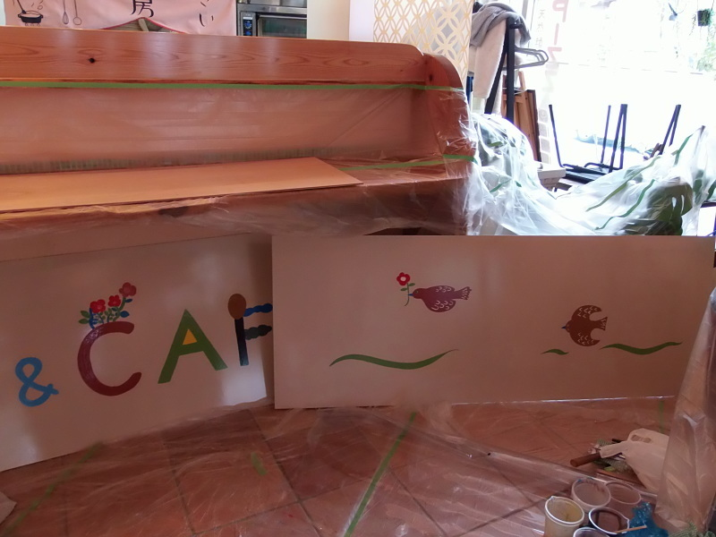 「手描き」看板作り 2日目。_a0125419_22485147.jpg