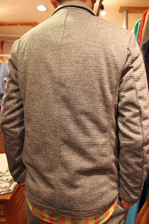 "Jackman ""NEP JERSEY JACKET & TROUSERS\"" SET-UP ご紹介_f0191324_0261043.jpg"
