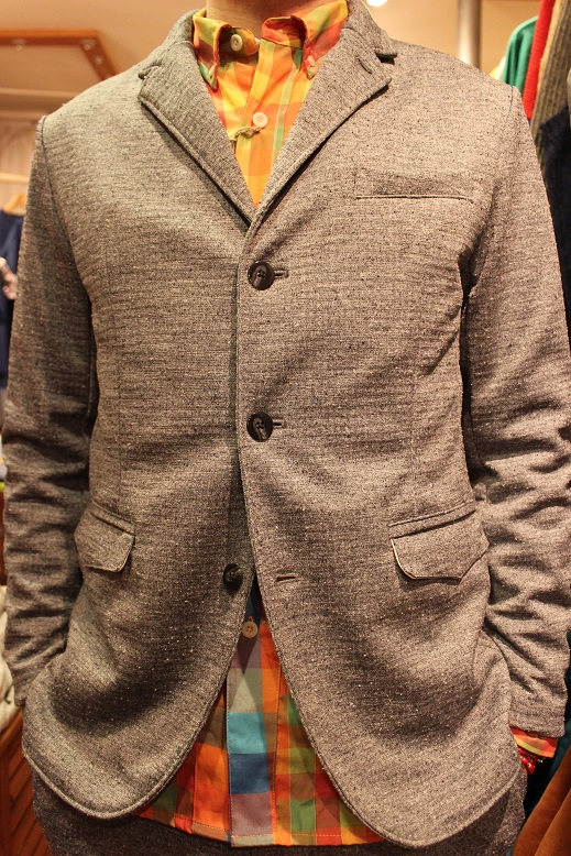 "Jackman ""NEP JERSEY JACKET & TROUSERS\"" SET-UP ご紹介_f0191324_026168.jpg"