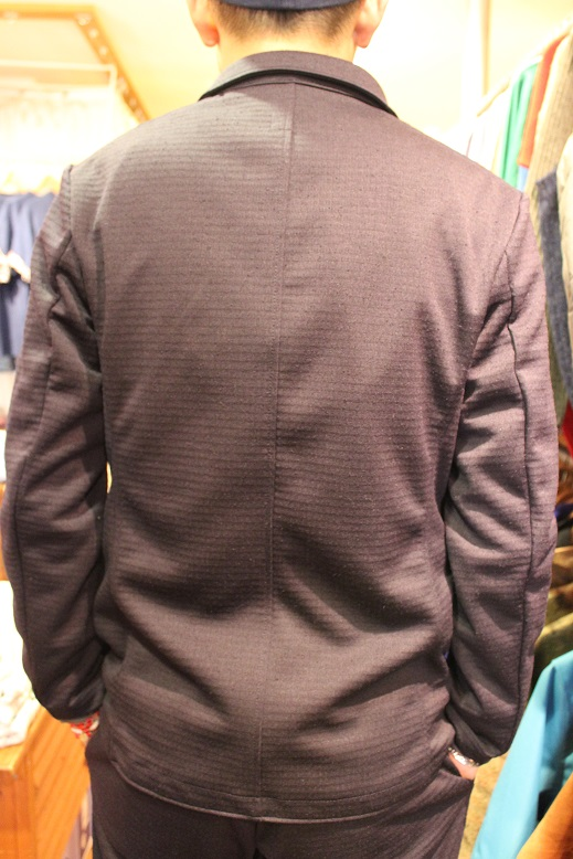 "Jackman ""NEP JERSEY JACKET & TROUSERS\"" SET-UP ご紹介_f0191324_0274191.jpg"