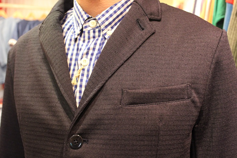 "Jackman ""NEP JERSEY JACKET & TROUSERS\"" SET-UP ご紹介_f0191324_0274964.jpg"