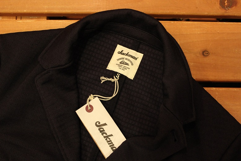 "Jackman ""NEP JERSEY JACKET & TROUSERS\"" SET-UP ご紹介_f0191324_0282298.jpg"