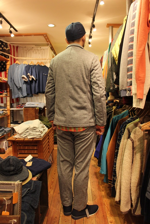 "Jackman ""NEP JERSEY JACKET & TROUSERS\"" SET-UP ご紹介_f0191324_0322965.jpg"