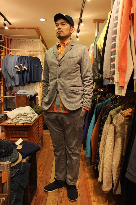 "Jackman ""NEP JERSEY JACKET & TROUSERS\"" SET-UP ご紹介_f0191324_0323976.jpg"