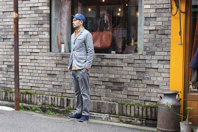 "Jackman ""NEP JERSEY JACKET & TROUSERS\"" SET-UP ご紹介_f0191324_033920.jpg"