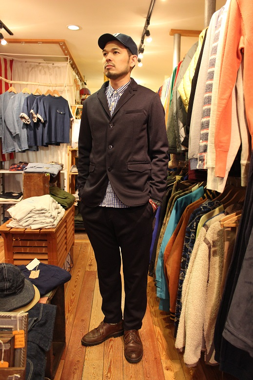 "Jackman ""NEP JERSEY JACKET & TROUSERS\"" SET-UP ご紹介_f0191324_0341915.jpg"