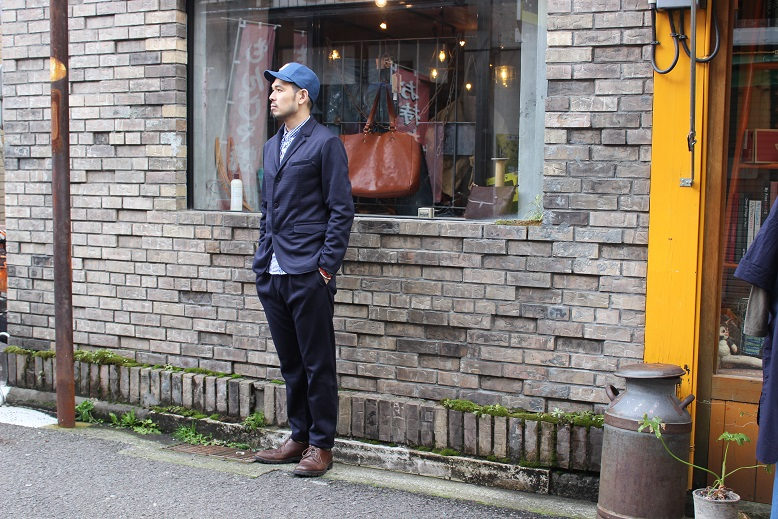 "Jackman ""NEP JERSEY JACKET & TROUSERS\"" SET-UP ご紹介_f0191324_0343642.jpg"