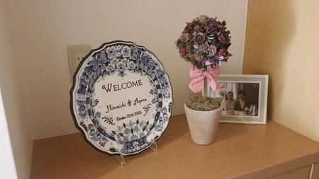 結婚式後のブーケの保存 お母様手作りのバラのドライフラワー ASOの花嫁様より_a0042928_13282653.jpg