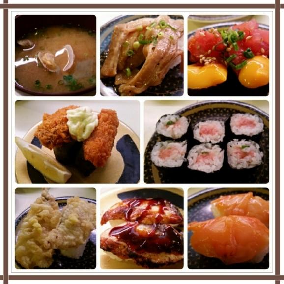 またまたオットとお食事@はま寿司♪_d0219834_14302786.jpg