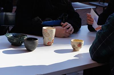 女子美術大学デザイン・工芸学科工芸専攻陶コース卒業制作展「遊」開催中です!_f0171840_14555224.jpg