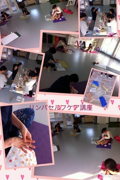 リンパセルフケア講座@ココレボカルチャースタジオ_f0140145_15301050.jpg