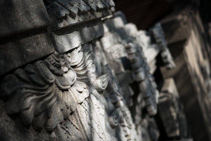 バリの廃墟に生息する光蜥蜴_d0353489_23263371.jpg