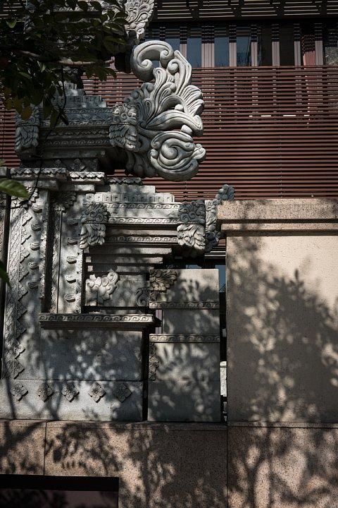 バリの廃墟に生息する光蜥蜴_d0353489_2327377.jpg