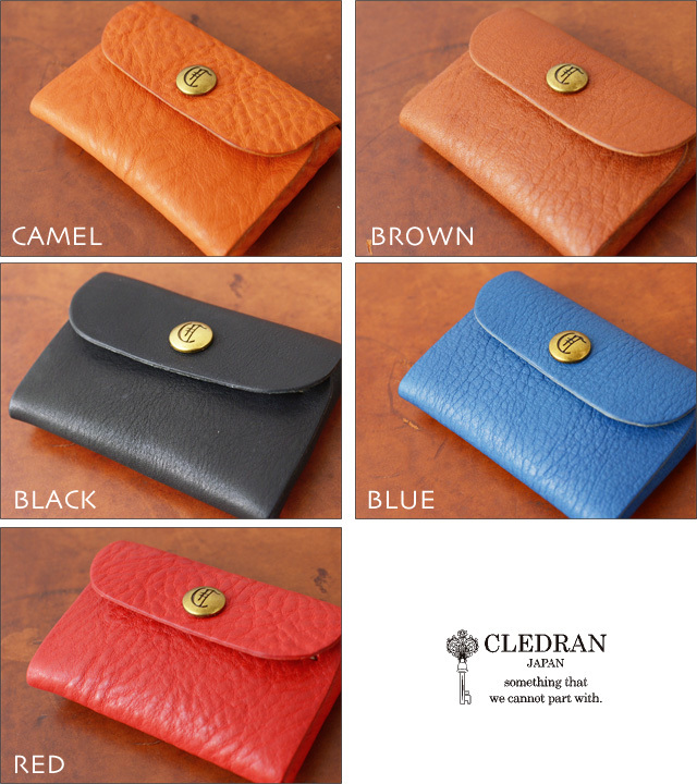 CLEDRAN [クレドラン] FLAP CARD CASE [CLF-1009] MEN\'S/LADY\'S_f0051306_20214145.jpg