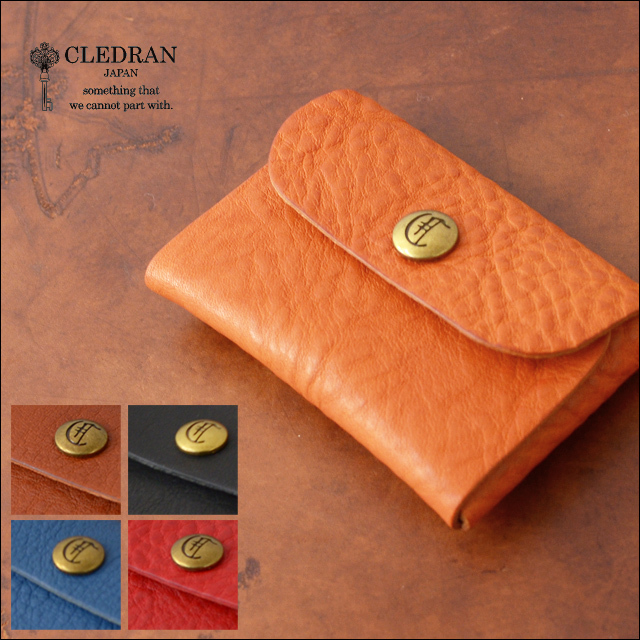 CLEDRAN [クレドラン] FLAP CARD CASE [CLF-1009] MEN\'S/LADY\'S_f0051306_20214150.jpg