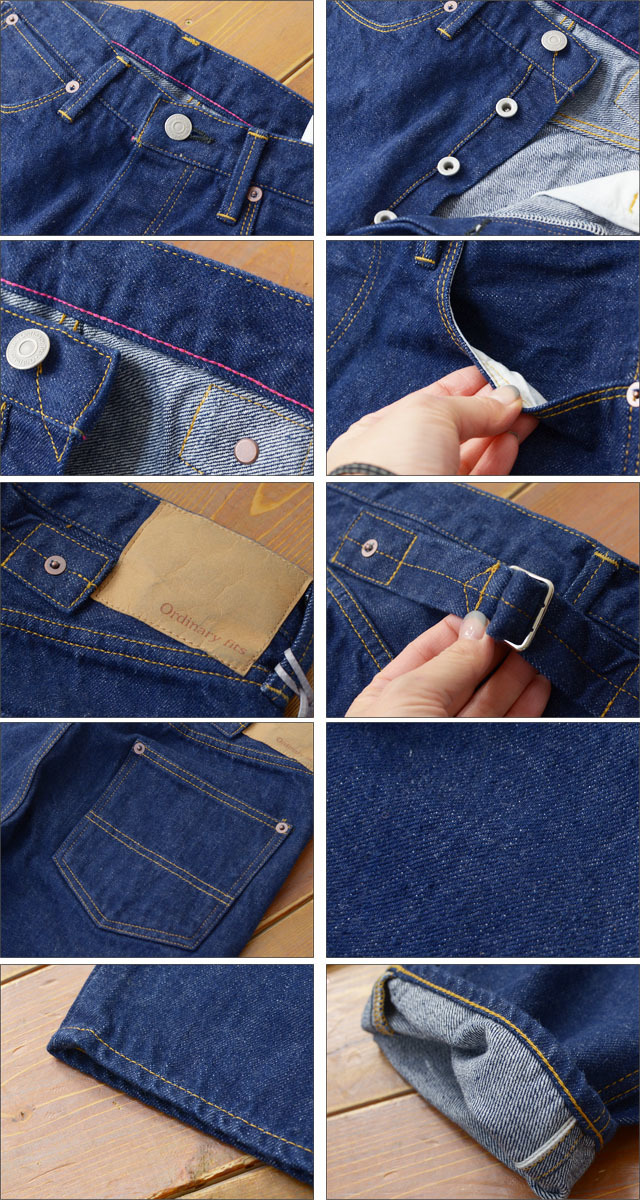 ordinary fits [オーディナリー フィッツ] 5POCKET ANKLE EARLY ONE WASH [OM-P079OW] MEN\'S_f0051306_20533670.jpg