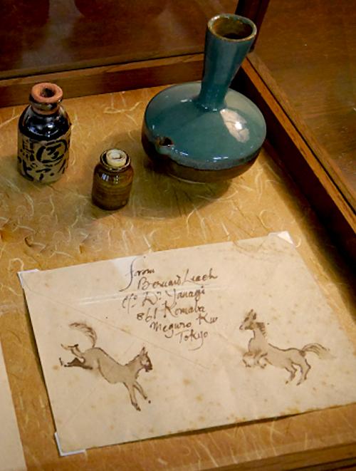 特別展示品 バーナード・リーチの手紙_f0197821_17474924.png