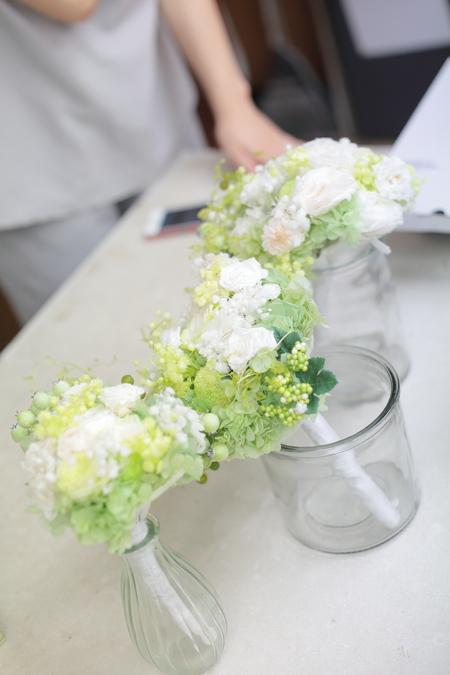 新郎新婦様からのメール 3シェアブーケとその後まで  軽井沢有明邸さまへ _a0042928_22171973.jpg