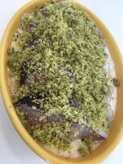 2016年2月料理教室 スモーブロ・ ごぼう餅・鱈のグラタン・ボネ_e0134337_20113091.jpg