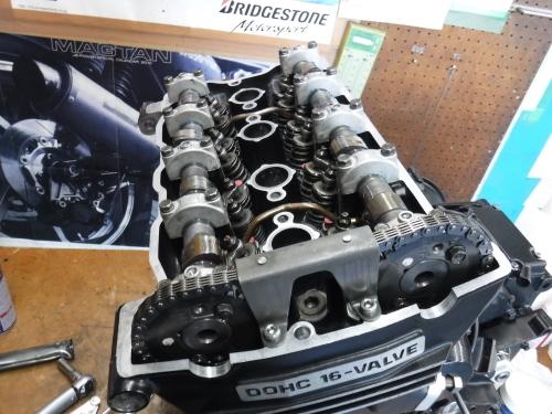 GPZ900Rエンジンオーバーホールの日・・・その5_a0163159_18344313.jpg