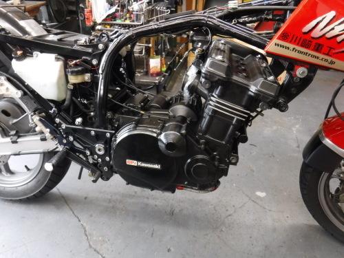 GPZ900Rエンジンオーバーホールの日・・・その6_a0163159_18422837.jpg