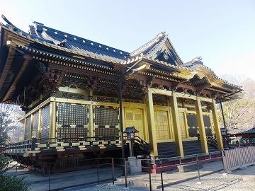 上野東照宮の社殿と透塀_c0187004_09240149.jpg