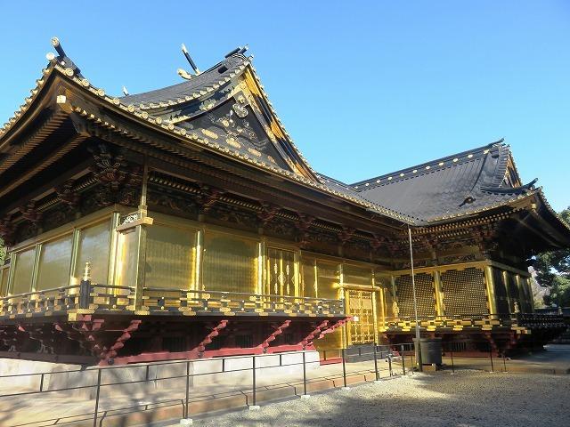 上野東照宮の社殿と透塀_c0187004_09244857.jpg